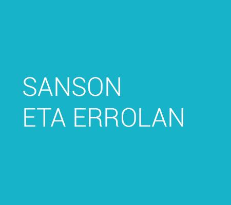 SANSON ETA ERROLAN